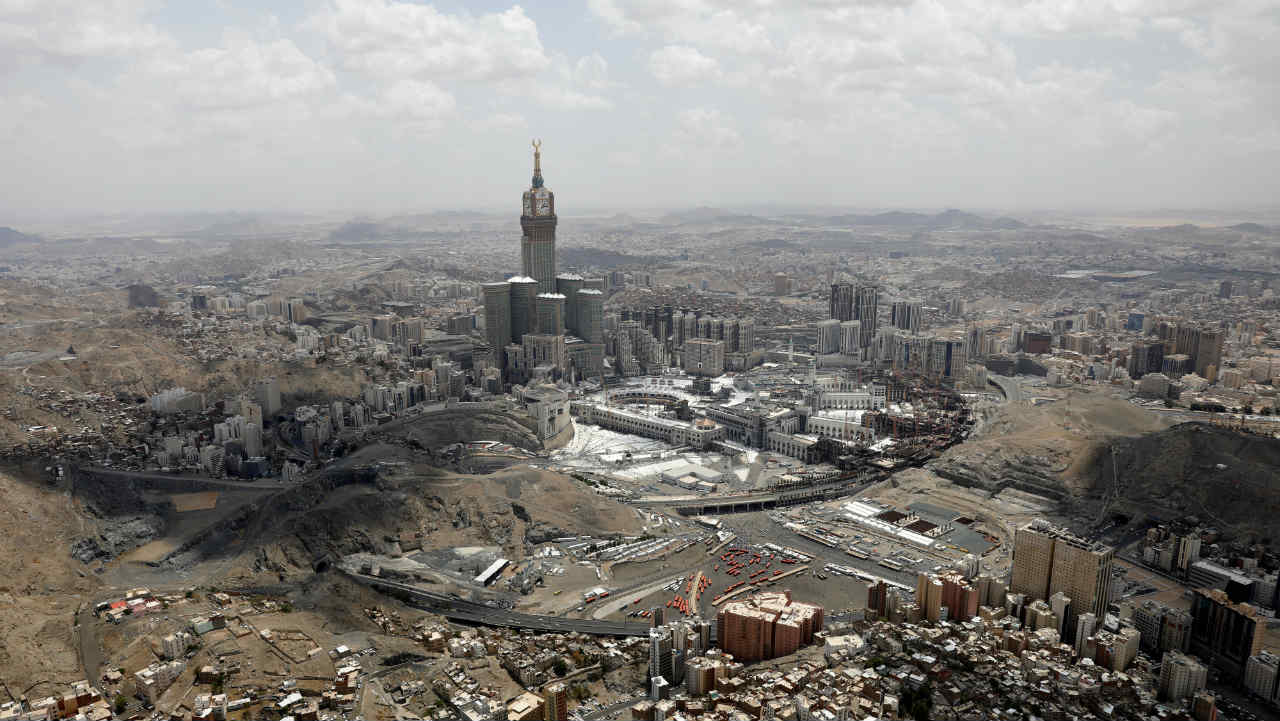 Mecca, Saudi Arabia | $20.09 billion (Image: Reuters)