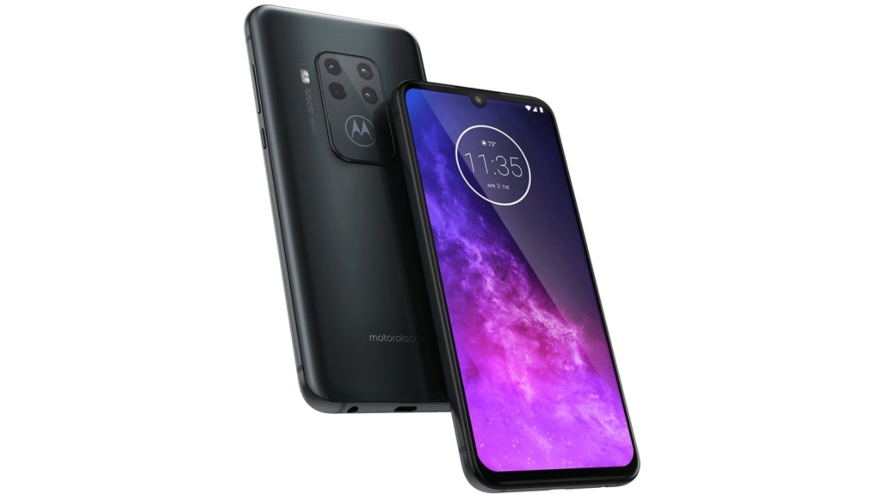 Motorola One Zoom | The Motorola One Zoom is the company's best offering. While the Snapdragon 675 SoC might not deliver the best price-to-performance, it packs a crisp OLED display and a quad-camera setup. The 48-megapixel primary sensor is accompanied by an ultra-wide, telephoto, and depth cameras. Additionally, the build quality and design on the One Zoom just appear classy. (Image: Motorola)