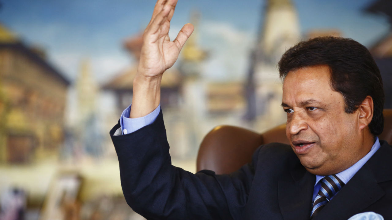 Richest person in Nepal | Binod Chaudhary | Biggest assets are a controlling stake in Nepal's Nabil Bank and CG Foods, maker of the popular Wai Wai noodles.| Net Worth as of March 2019: $1.7 B | Forbes Rich list rank: 1349 (Image: Reuters)
