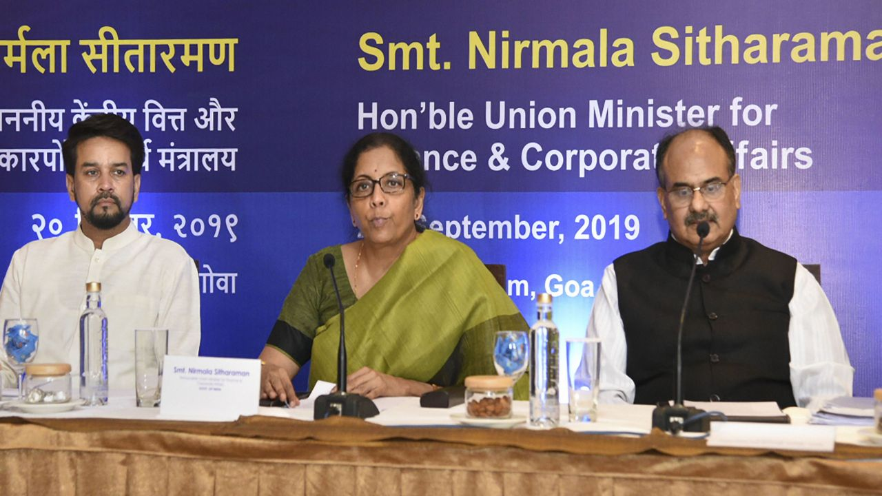 In Pics | Here's what RBI Governor, business leaders said about FM Nirmala Sitharaman's corporate tax cut