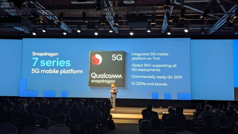 Affordable 5G phones: Qualcomm announces 5G Snapdragon 600 and 700 series  SoCs at IFA 2019