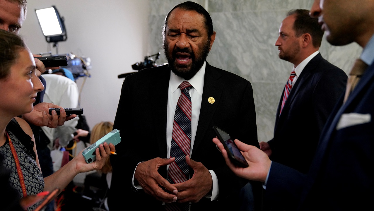 Rep. Al Green [D-TX] (Image: Reuters)