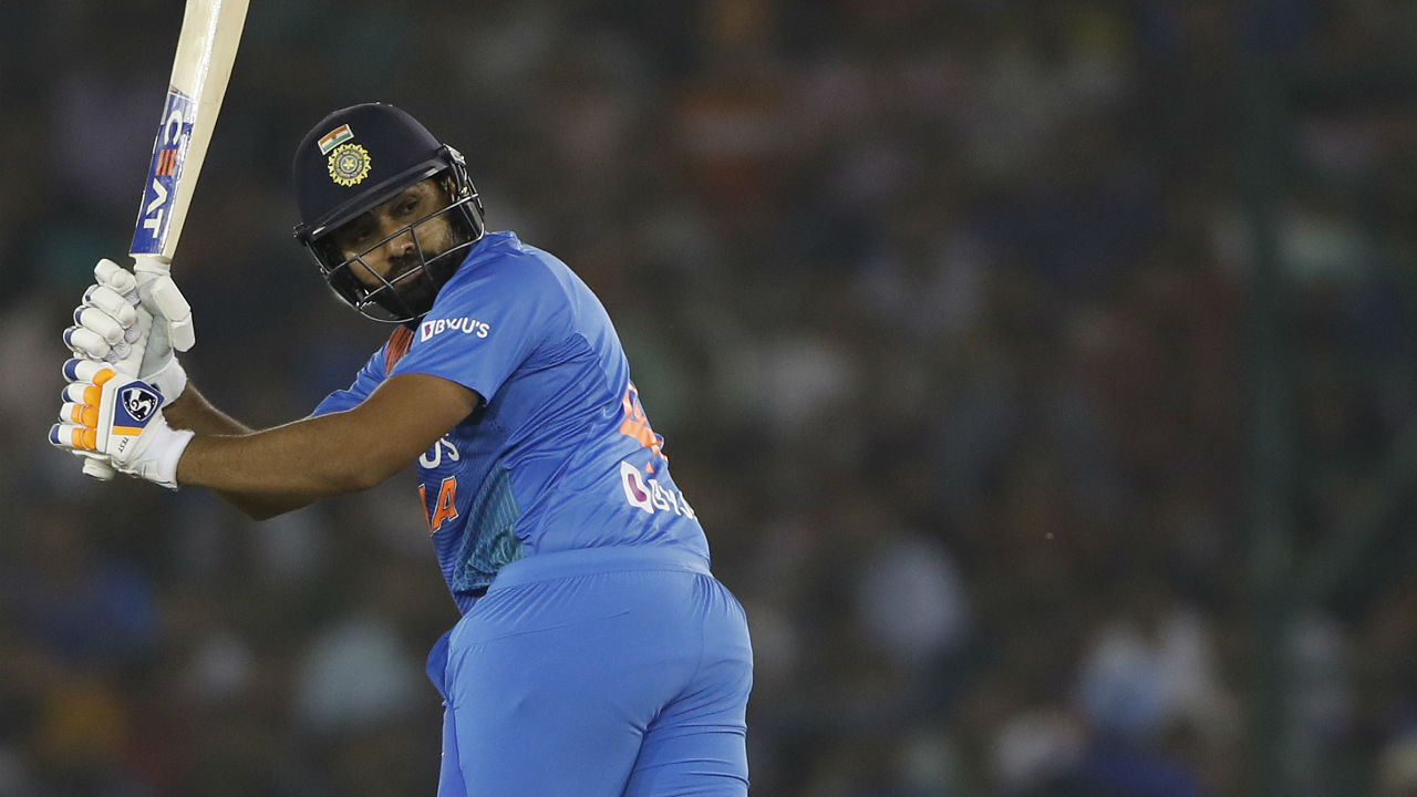 Chasing 150, Rohit Sharma and Shikhar Dhawan gave the Men in Blue a flying start as the two batsmen put 33 runs for the opening partnership. (Image: AP)