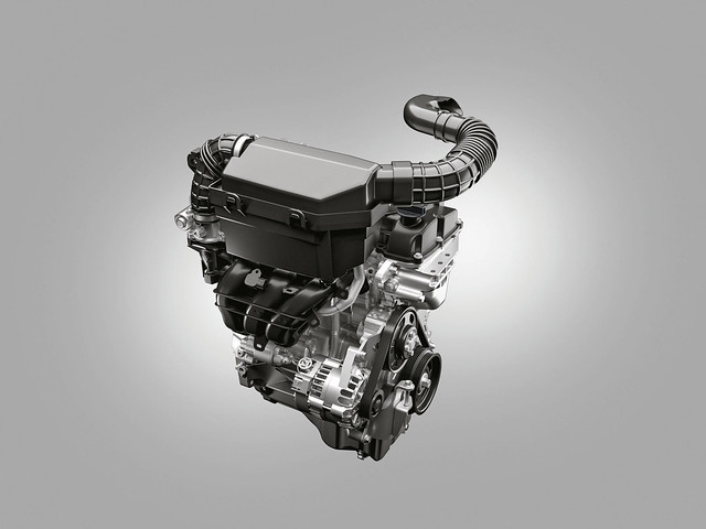 The S-Presso will be Maruti's first all-new model with a Bharat Stage VI engine. A 998cc, three-cylinder petrol engine, producing 67ps of peak power is fitted on the S-Presso. The engine will come tuned to a 5-speed manual gearbox and a 5-speed automatic gear shift (Image: Maruti Suzuki)