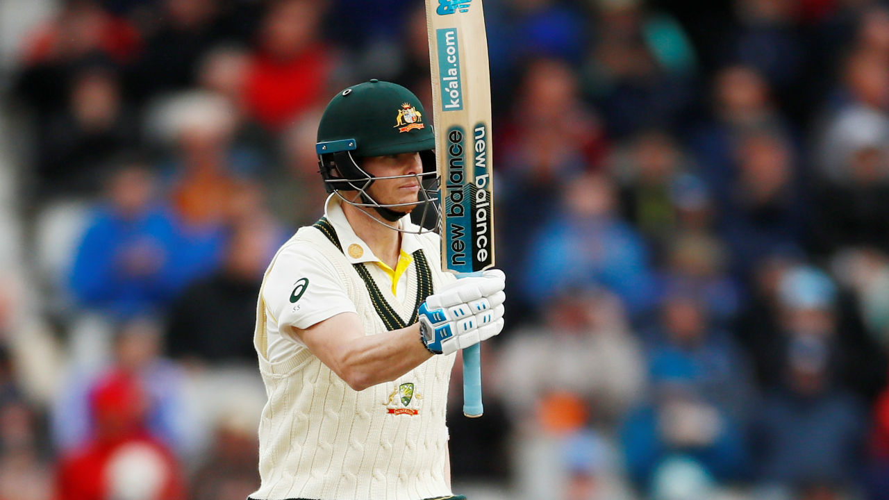With the scores of 82, 211, 92, 142, 144, 83, 102*, 76, 239 in his past 9 Test innings against England, Smith now holds the record of most consecutive 50+ scores in Ashes. (Image: Reuters)