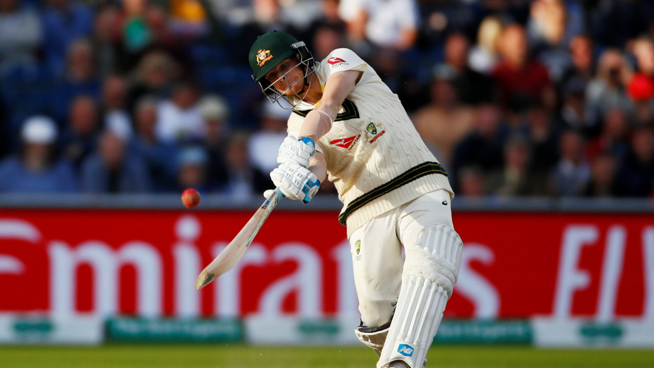 Smith has scored over 500 runs in each of the last three Ashes: 508 runs in 2015 Ashes in England, 687 runs in the 2017-18 home Ashes and 589 runs in this series. No other batsman has scored 500-plus runs in three successive Ashes series. Bradman scored 500-plus runs in five different series, but not three in a row. (Image: Reuters)