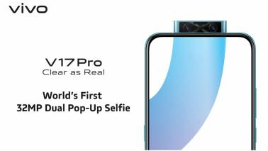 Vivo V17 Pro launched in India for Rs 29,990: Specifications, features and availability details