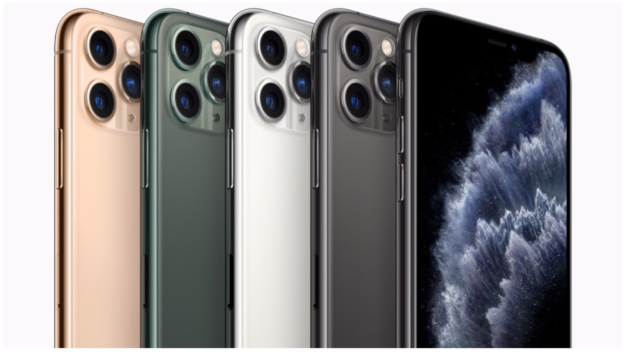 The iPhone 11 Pro and 11 Pro Max were also launched alongside as Apple's premium iPhone models for 2019. (Image: Apple)