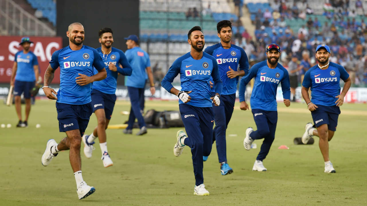 After the 1st T20I was abandoned without a ball being bowled thanks to incessant rains at Dharamsala, India and South Africa squared off for the 2nd T20I at Mohali. The Indian T20I squad was similar to the one picked in West Indies barring one change with Hardik Pandya returning from injury to replace Bhuvneshwar Kumar. (Image: PTI)