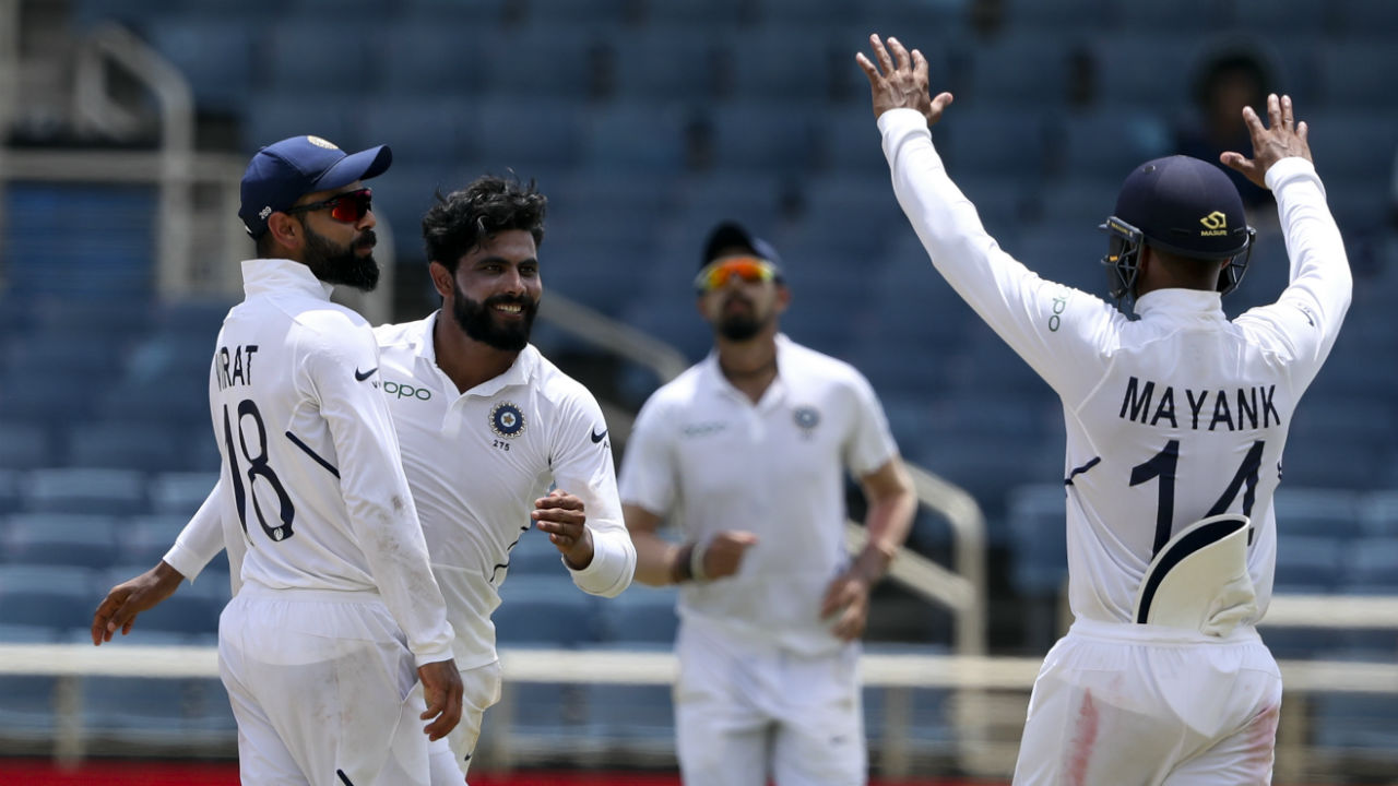 Jadeja dented South African chase early as he trapped centurion Dean Elgar LBW. Elgar made 2 as South Africa were 4/1. Aiden Markram and Temba Bavuma then guided South Africa to 11/1 at Stumps. (Image: AP, representational)