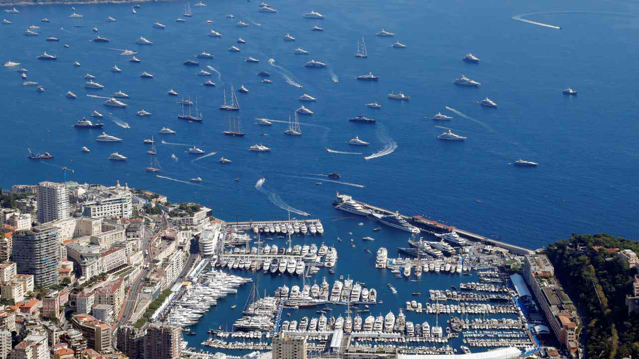 Monaco | Cost per litre - Rs 134.84 | Pictured is a harbour in the city. (Image: Reuters)