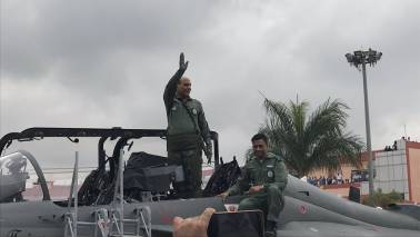 Rajnath Singh becomes 1st defence minister to fly Tejas fighter jet