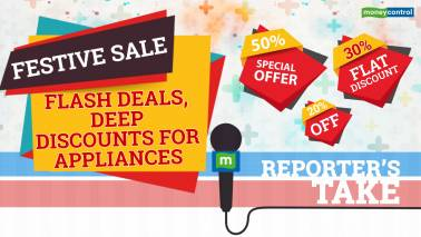 Festive sale: Deep discounts for appliances