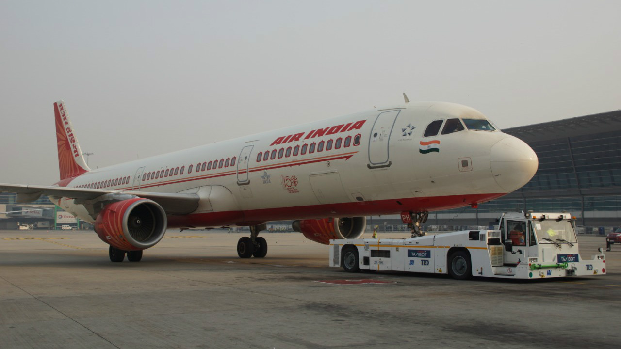 In pics: Air India becomes first airline to use TaxiBot on A320 aircraft