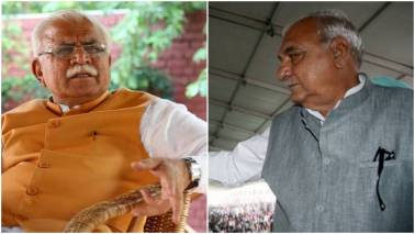 Haryana Assembly Election: Manohar Lal Khattar, Bhupinder Hooda lead in early trends