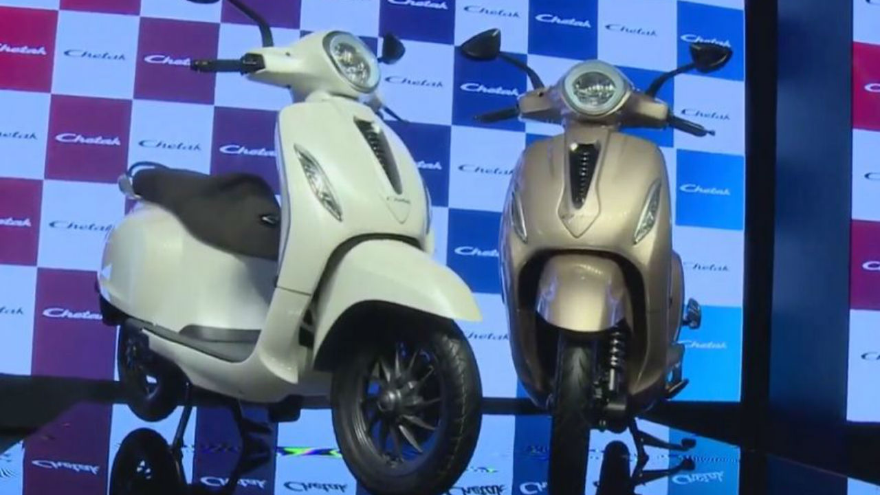 In pics: Bajaj Chetak electric scooter unveiled; find out range, specs and other details