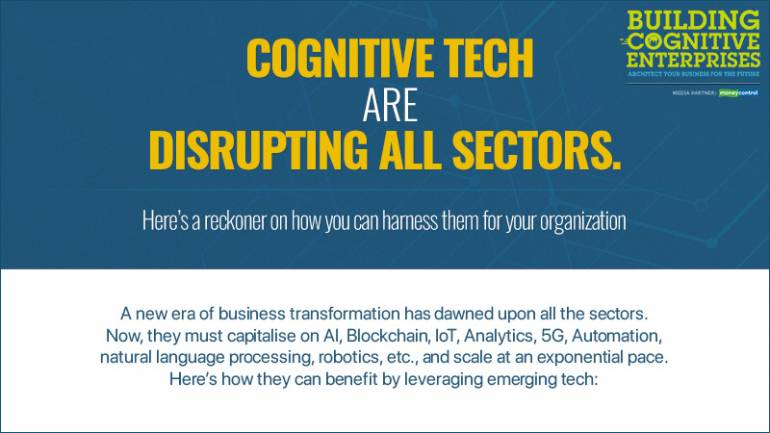 Cognitive tech are disrupting all sectors