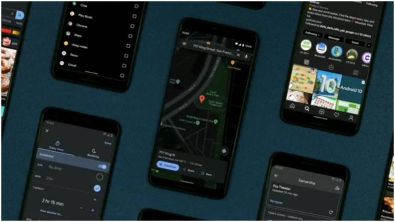 Dark Mode For Gmail And Google Maps Rolling Out For Android And