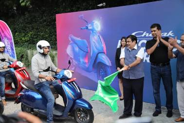 Scooters: The one thing Rajiv Bajaj could not say no to