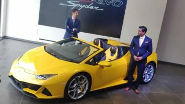 Lamborghini launches Huracan Evo Spyder for Rs 4.1 Crore