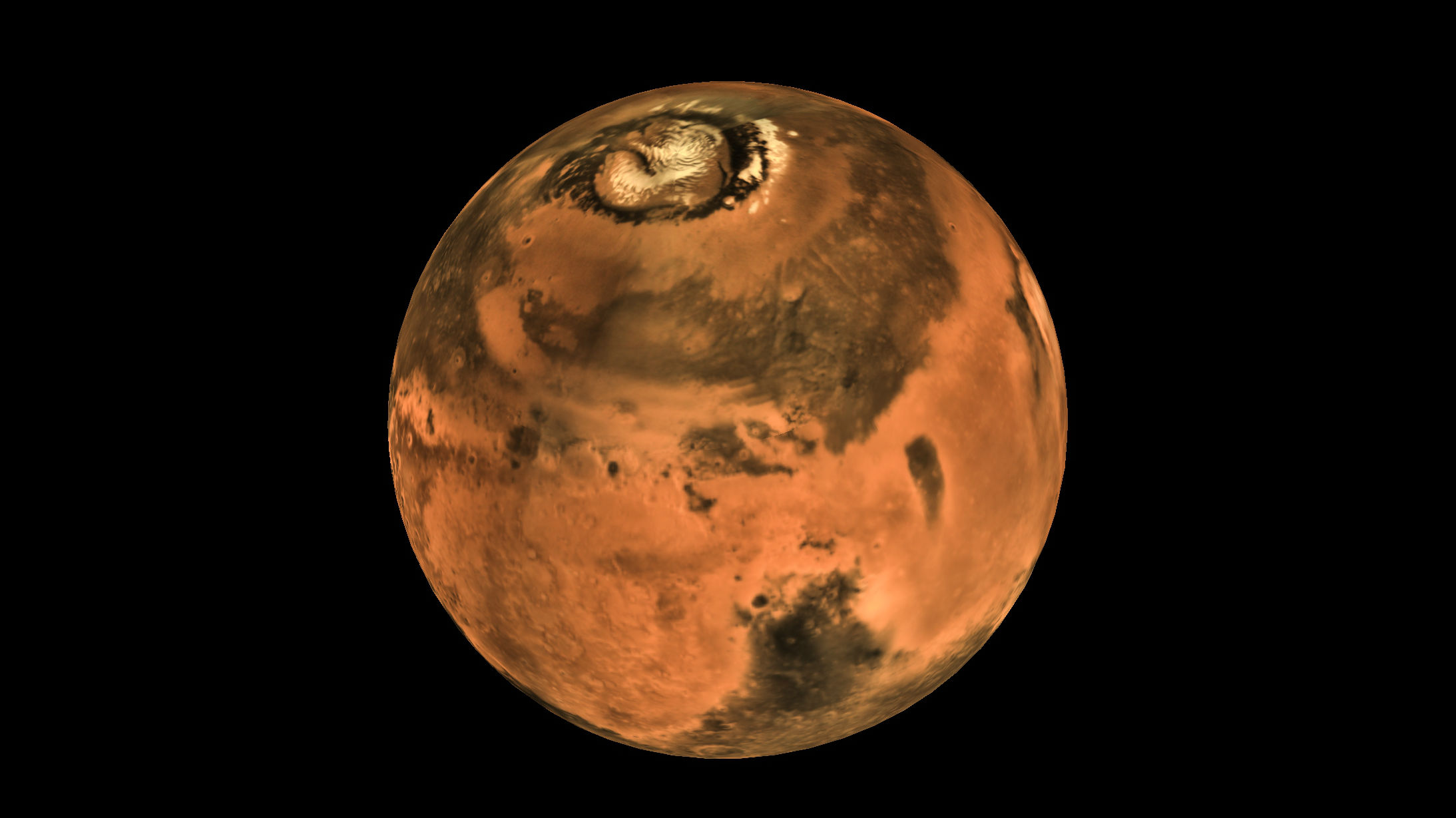 It's been five years since the Indian Space Research Organisation's (ISRO) Mars Orbiter started orbiting the Red Planet. The space craft entered Mars' orbit on September 24, 2014. Take a look at some of the pictures taken by the Mars Colour Camera (MCC). (Image source: ISRO website)