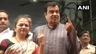 Maharashtra Assembly Election: Nitin Gadkari votes, predicts 'record-breaking' win for BJP-Sena