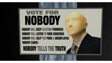 Election candidate in US town changes name to 'Nobody' to help people vote for 'Nobody'