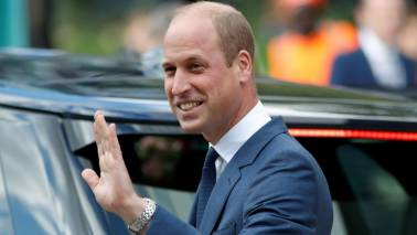 Britain's Prince William, Kate Middleton arrive in Pakistan on five-day visit