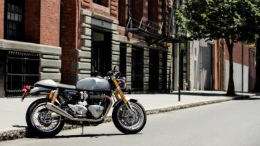 British motorcycle maker Triumph teases Thruxton RS