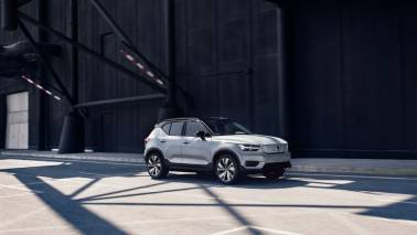 Volvo unveils its first fully electric car XC40 Recharge