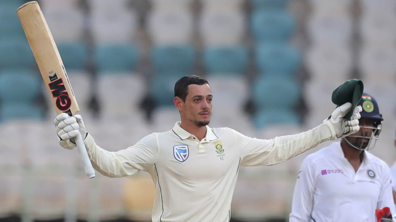 On a batting friendly track de Kock too completed his century. (Image: AP)