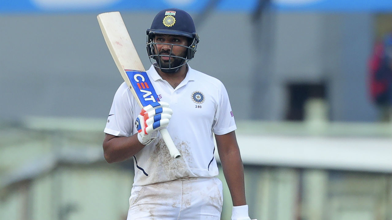 Rohit also became only the sixth Indian batsman to score two centuries in a single Test after Vijay Hazare, Sunil Gavaskar (3 times), Rahul Dravid (2 times), Viraj Kohli, and Ajinkya Rahane. (Image: AP)