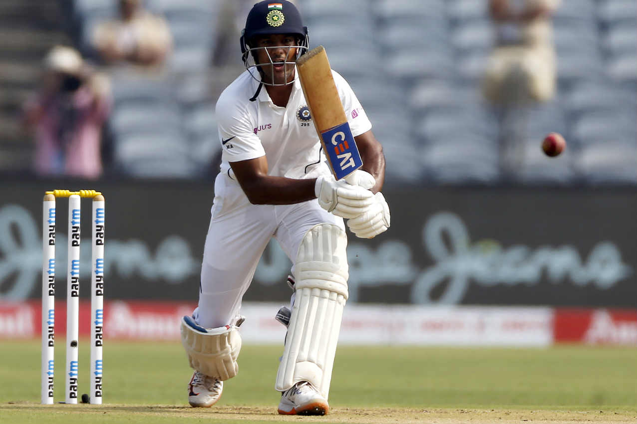 Mayank Agarwal and Rohit Sharma walked out to open the innings for India and survived a hostile spell from South African pacers. (Image: AP)