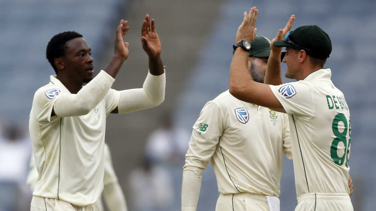 Till then only Rabada had managed to pick wickets which highlighted the struggle of other South African bowlers. (Image: AP)