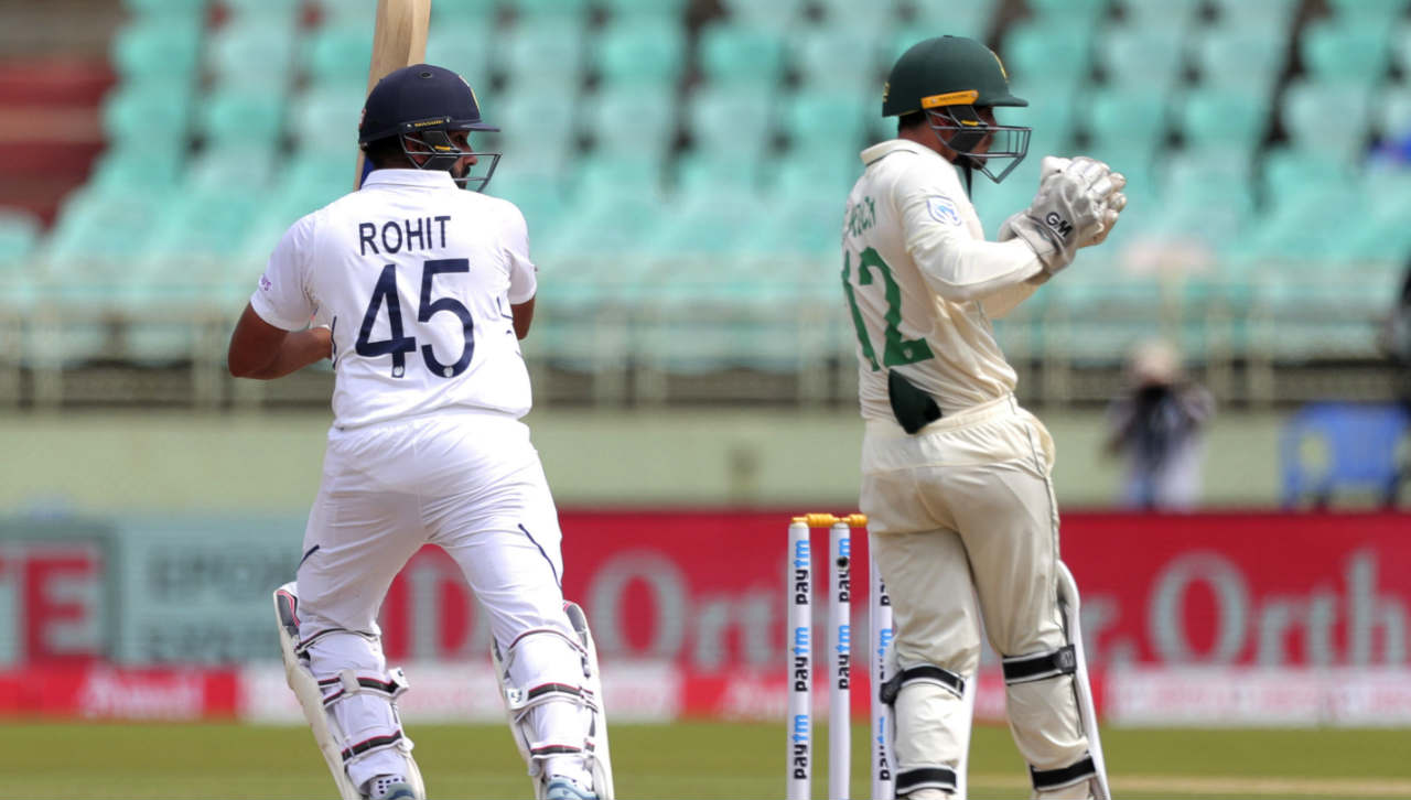 The two Indian batsmen then cut loose and stitched a 50-run opening stand. (Image: AP)