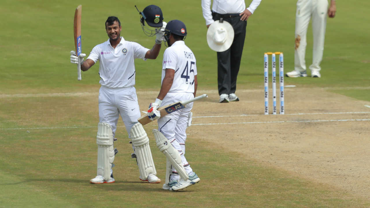 In Pics India Vs South Africa 1st Test Day 2 Agarwal