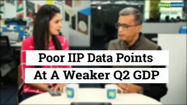 Poor IIP data points at a weaker Q2 GDP