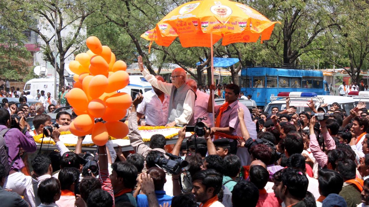 File Pic_ LK Advani