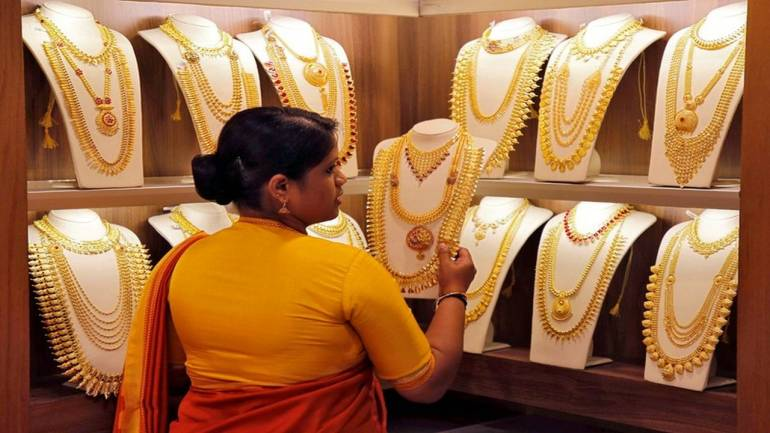 Gold price slips Rs 782 to Rs 42,808 per 10 grams, silver down Rs 980 per kg - Moneycontrol.com thumbnail