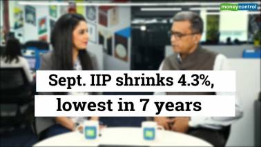 Sept IIP data shrinks 4.3%, lowest in 7 yrs