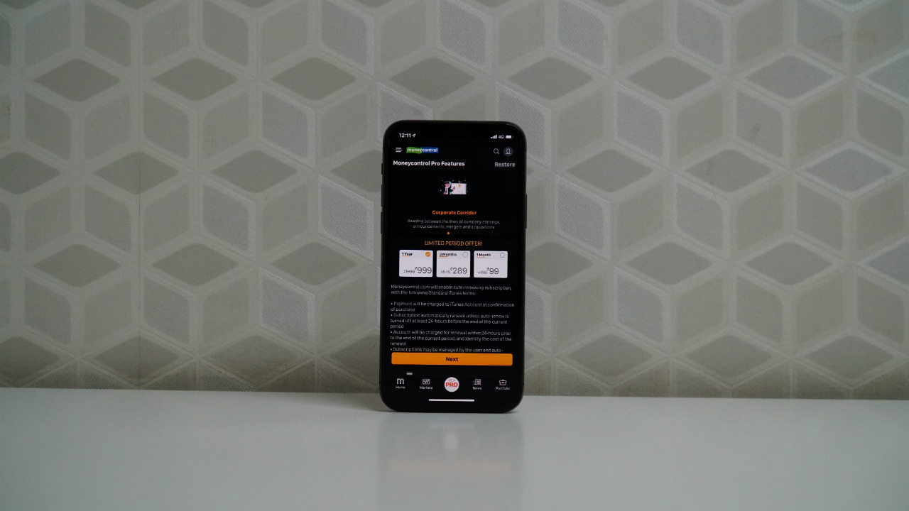 iPhone 11 Pro Moneycontrol Pro