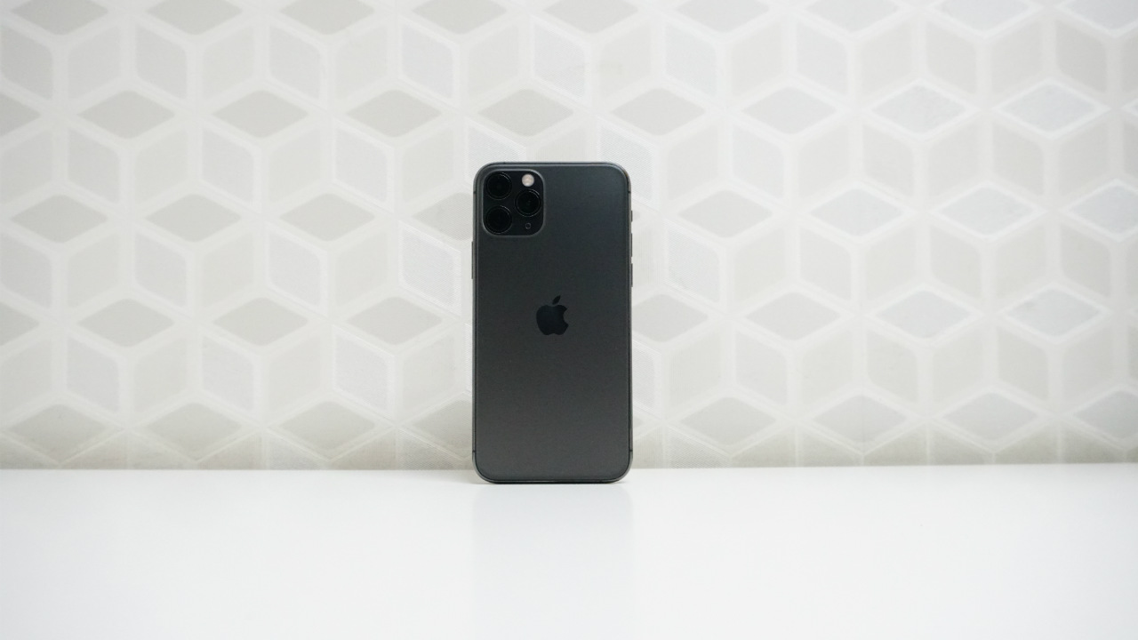 iPhone 11 Pro rear panel front view