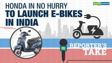 Honda in no hurry to launch e-bikes in India
