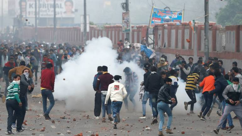 Image result for Citizenship Act protest turns violent in Seelampur