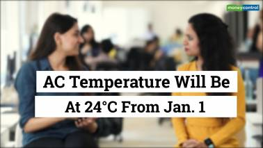 AC temperature will be at 24°C from Jan 1