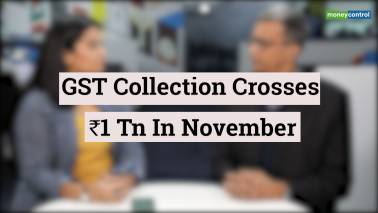 GST collection crosses Rs 1 lakh cr in Nov