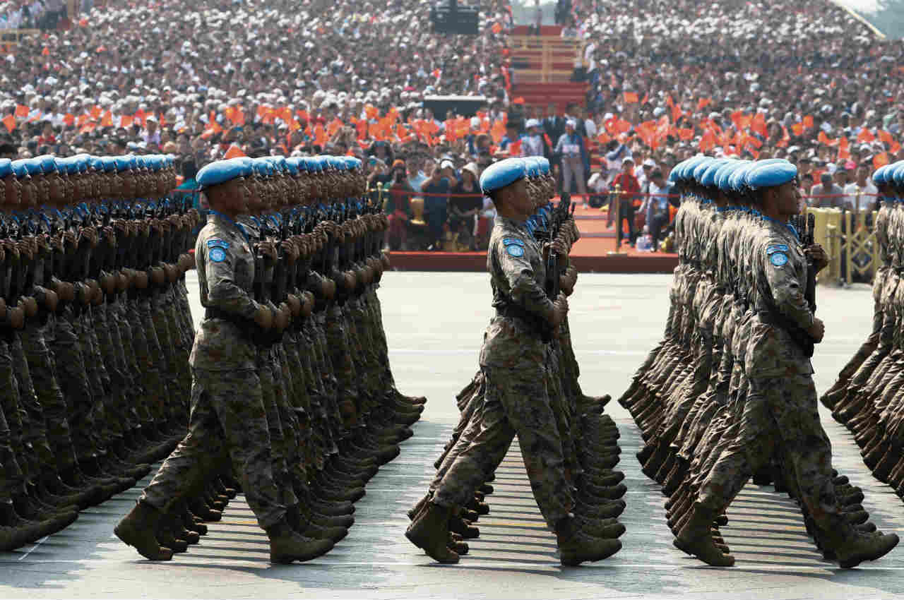 No. 1 | China| Total available active military manpower: 2,183,000 (Image: Reuters)