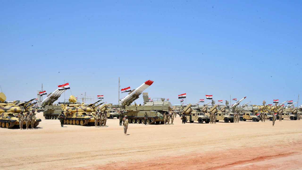 No. 10 | Egypt | Total available active military manpower: 440, 000 (Image: Reuters)