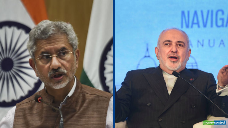 Image result for Jaishankar discusses global, regional issues with his Iranian counterpart