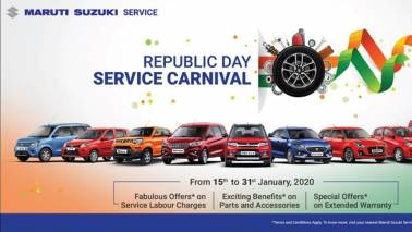 Republic Day 2020: Maruti Suzuki service camp to offer benefits on car repairs, accessories, parts and more